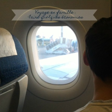 voyage avion famille