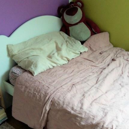 linge de lit lin lavé compagnie du blanc carré