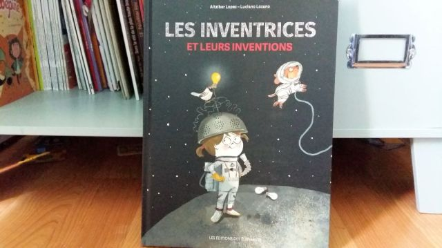 album jeunesse droit des femmes Inventrices