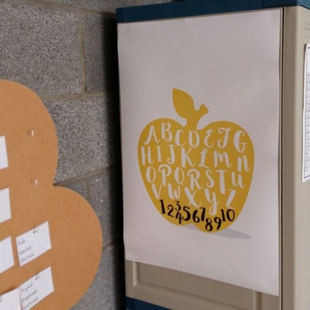 posters pour ma classe alphabet