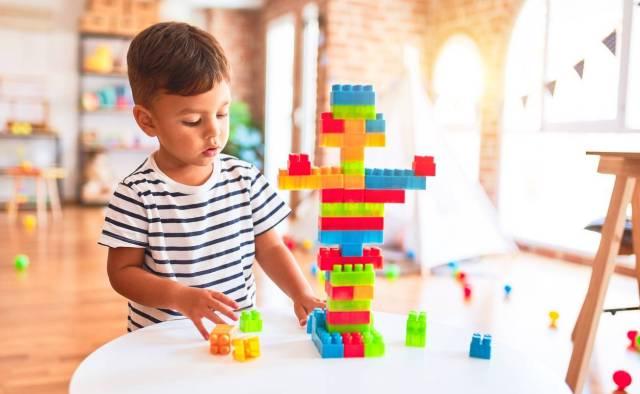 jeu de construction, cadeau enfant