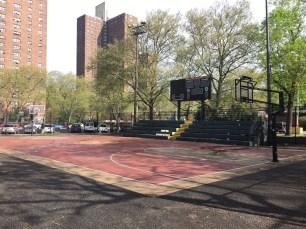 Il campo da gioco del Rucker Park