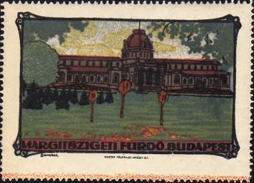EP - Budapest - Margitfürdő - levélzáró