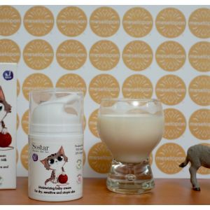 Moisturizer Emollient Baby Cream Enriched With Bio Donkey Milk 50ml For Dry, Sensitive & Atopic Skin
