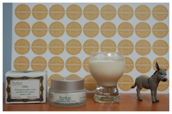 Soothing Women Anti Aging Wrinkle Night Cream For Face & Neck Enriched With Bio Donkey Milk 50ml For All Skin Types