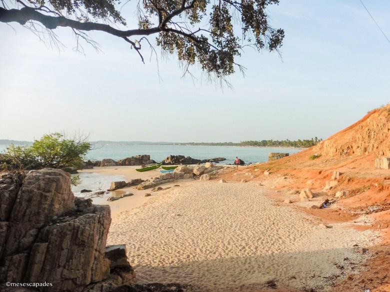 Lever de soleil à Trincomalee