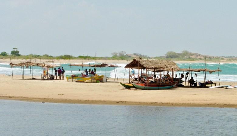 Spot de surf à Arugam Bay