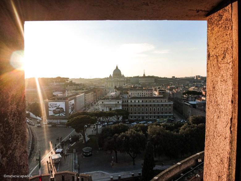 Découvrir Rome depuis le Château Saint Ange