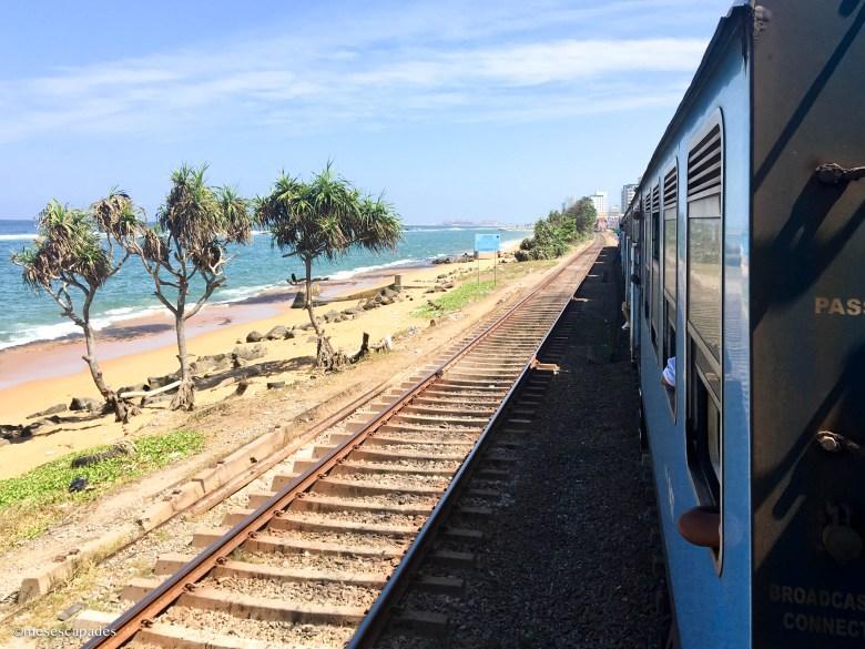 Prendre le train au Sri Lanka
