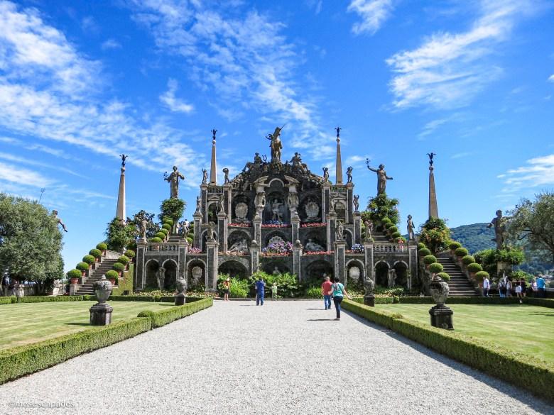 Le palais de l'Isola Bella
