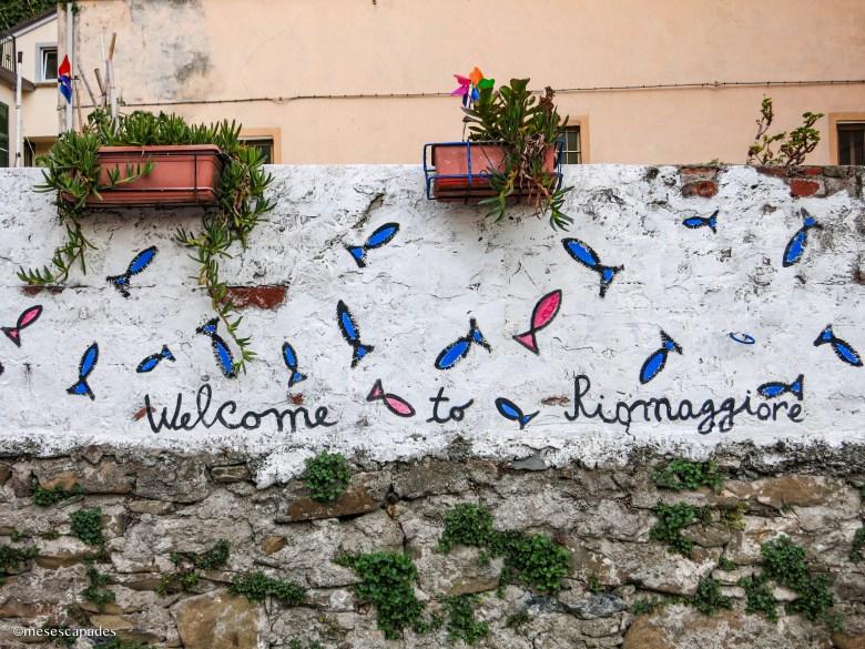 Bienvenue à Riomaggiore