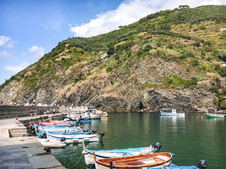 Découvrir le port de Vernazza