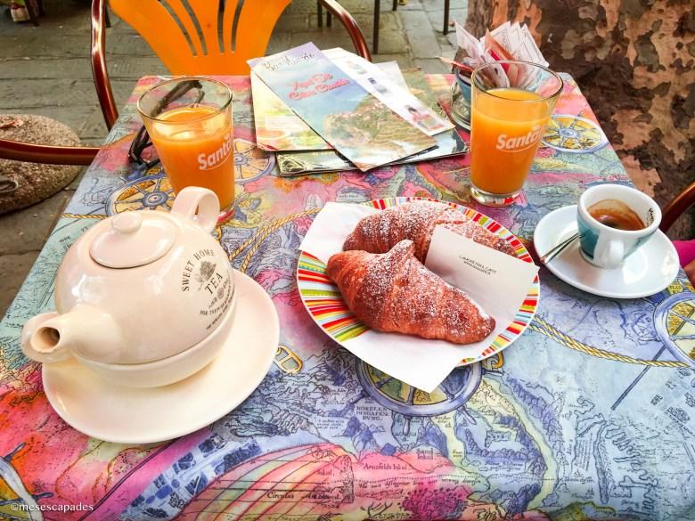 Déguster un petit-déjeuner à Corniglia
