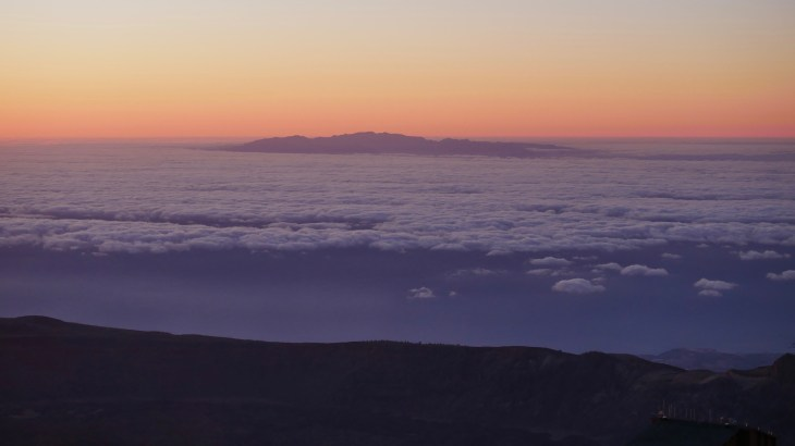 Lever du soleil - Pic du Teide