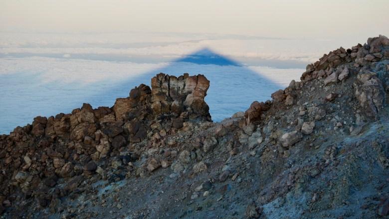 L'ombre du pic du Teide