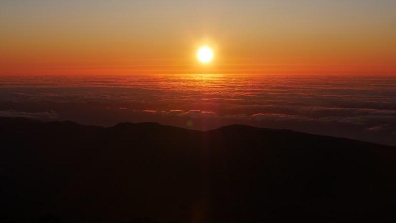 Lever de soleil sur le pic du Teide