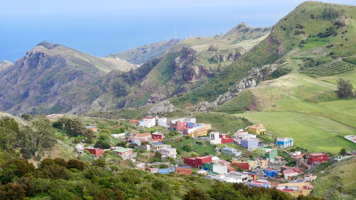 Randonnées à Tenerife : passage par Las Carboneras, village de l'Anaga