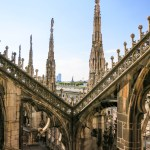 Les toits du Duomo de Milan