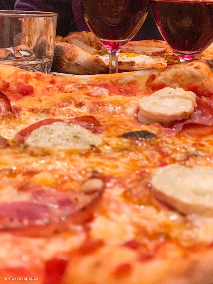 Déguster des pizzas à l'Olivier de Cabourg