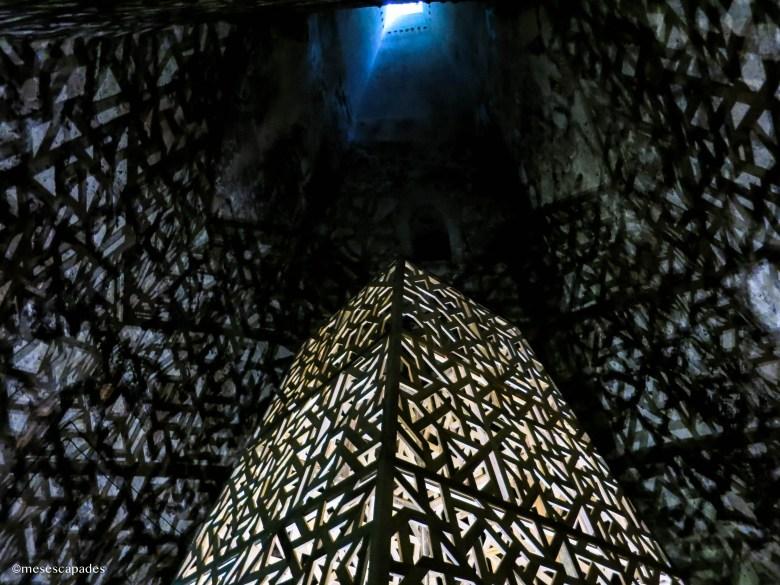 Découverte des caves de la maison Pommery à Reims