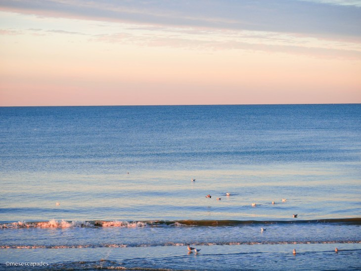 La mer de Cabourg