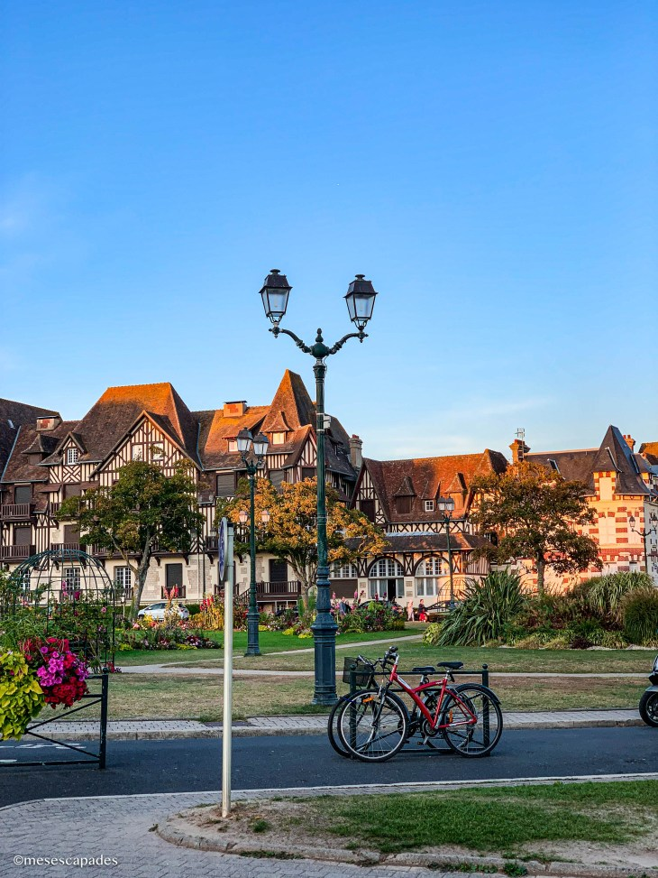 Les maisons à colombage, maisons typiques de Cabourg en Normandie