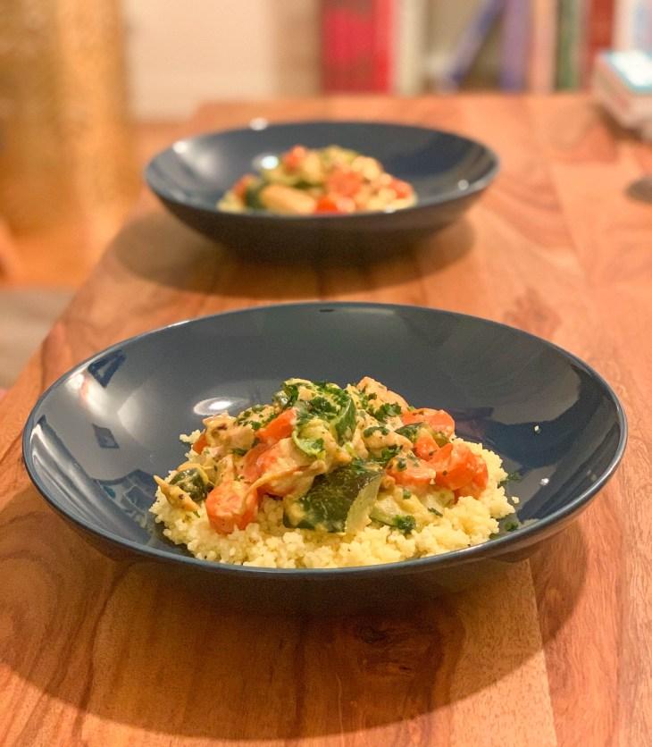 Wok carottes et courgettes, recette saine