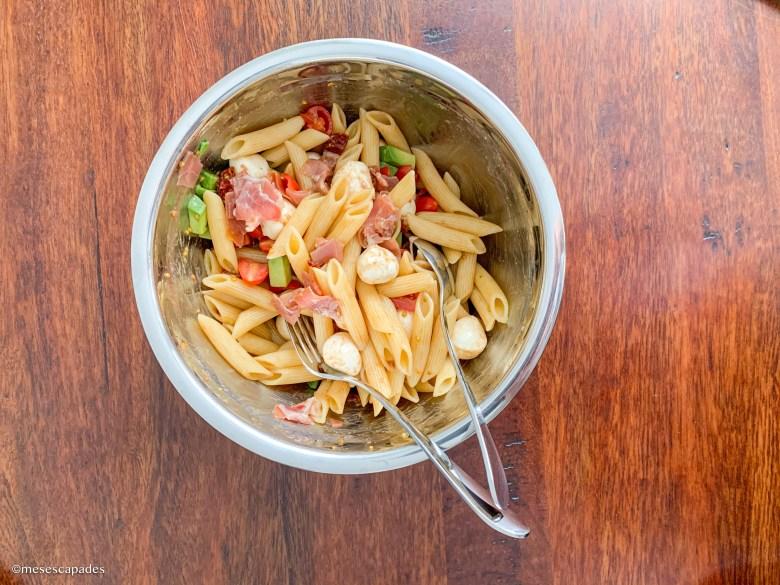 Recette de pâtes à l'italienne