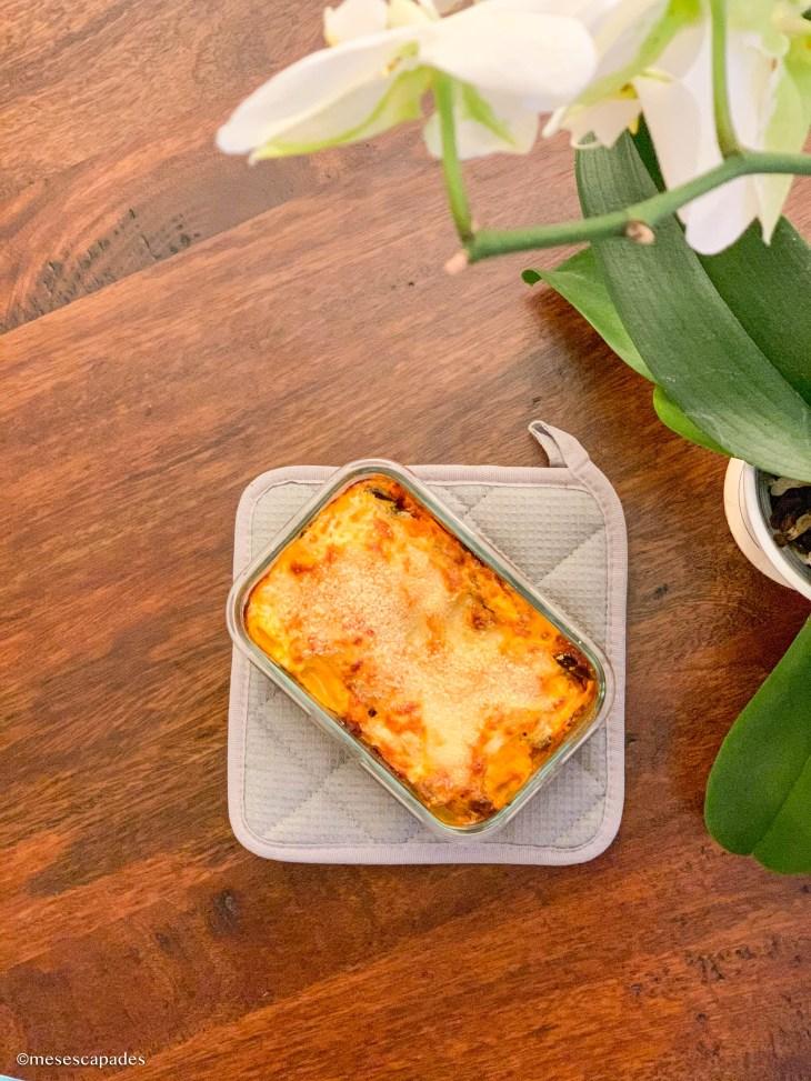 Recette de lasagnes végétariennes, version aubergines