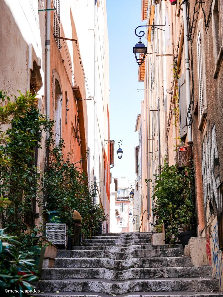 Les ruelles de Marseille