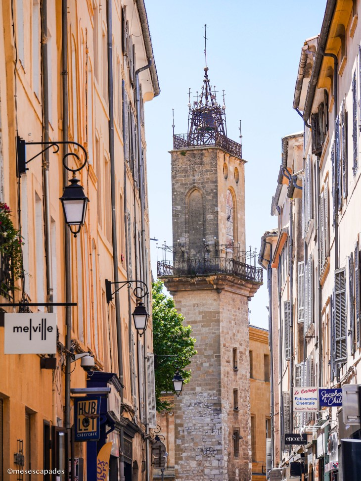 Les ruelles d'Aix-en-Provence