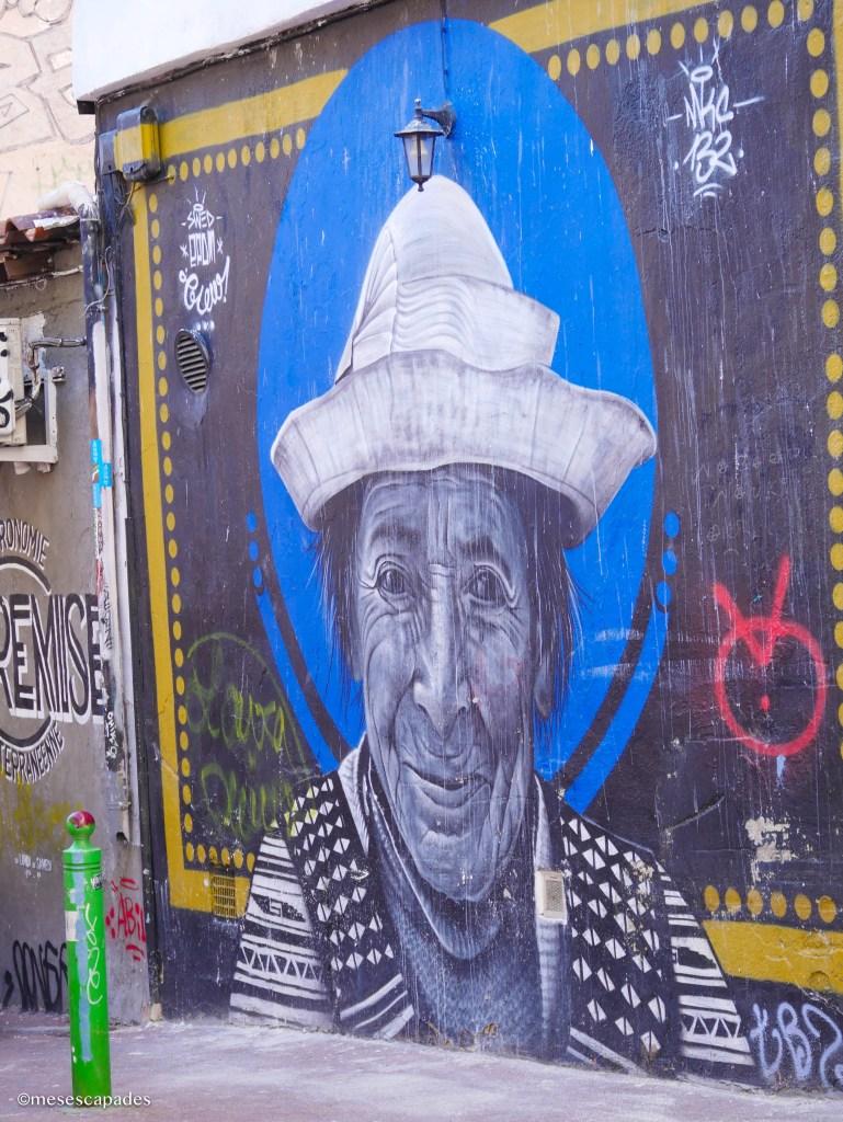 Le cours saint julien et son street art à Marseille