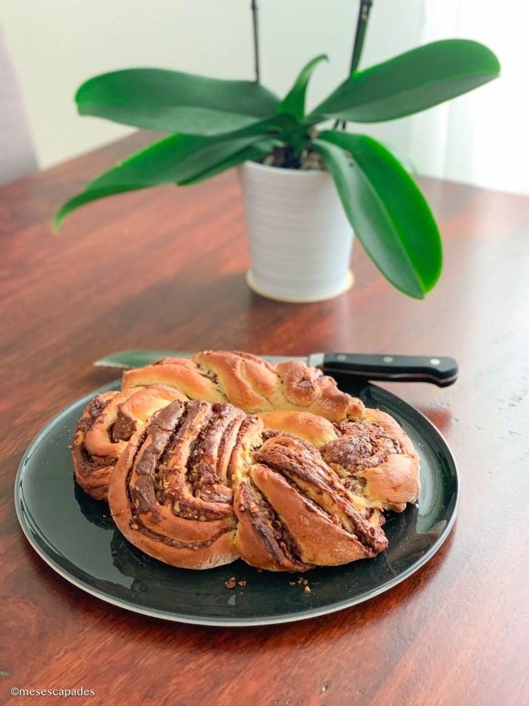 Recette de la babka pâte à tartiner