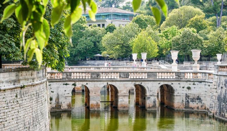 Jardins des fontaines, Nîmes