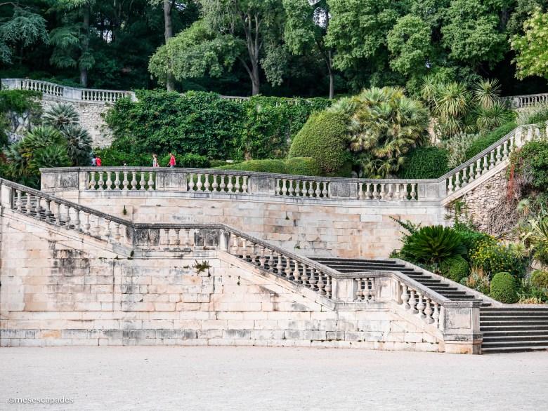 Jardins des Fontaines de Nîmes, balade incontournable