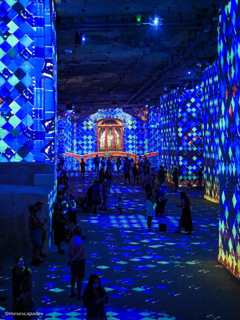 Carrières de Lumière : spectacle sur Dali et Gaudi
