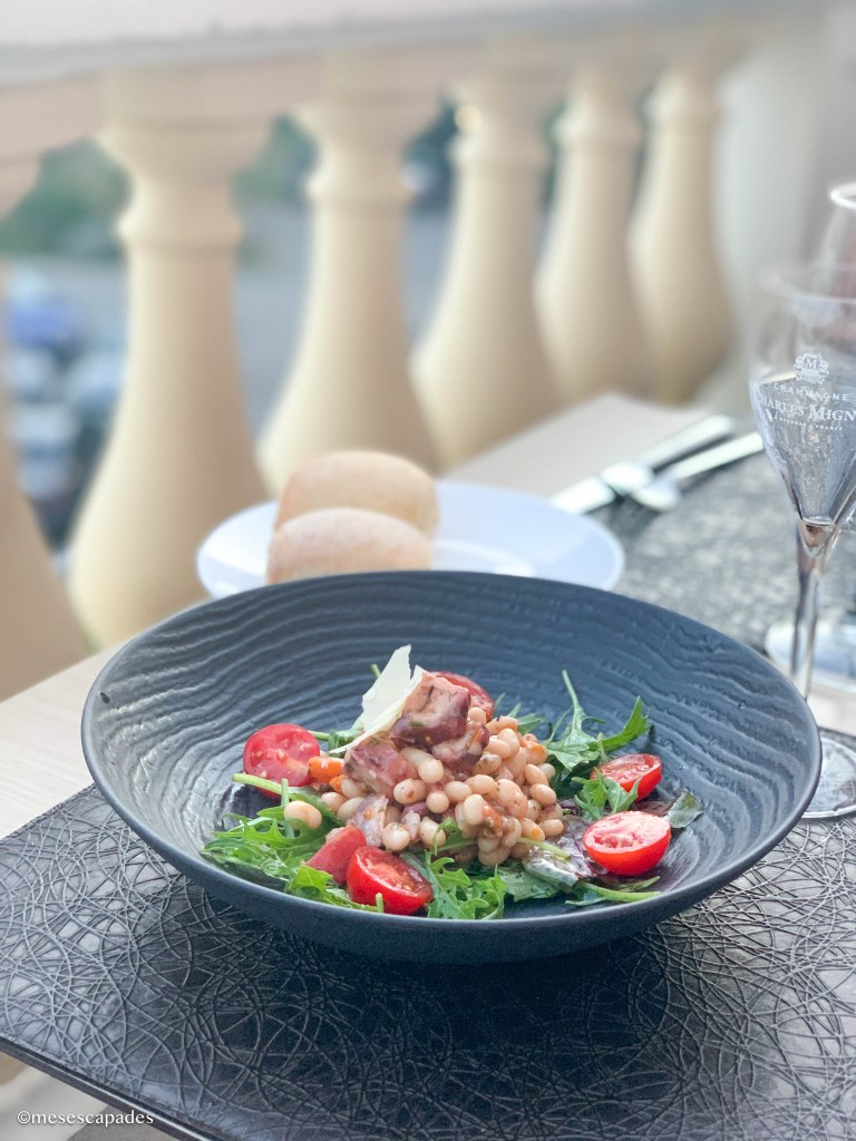 Salade de poulpe à Nice