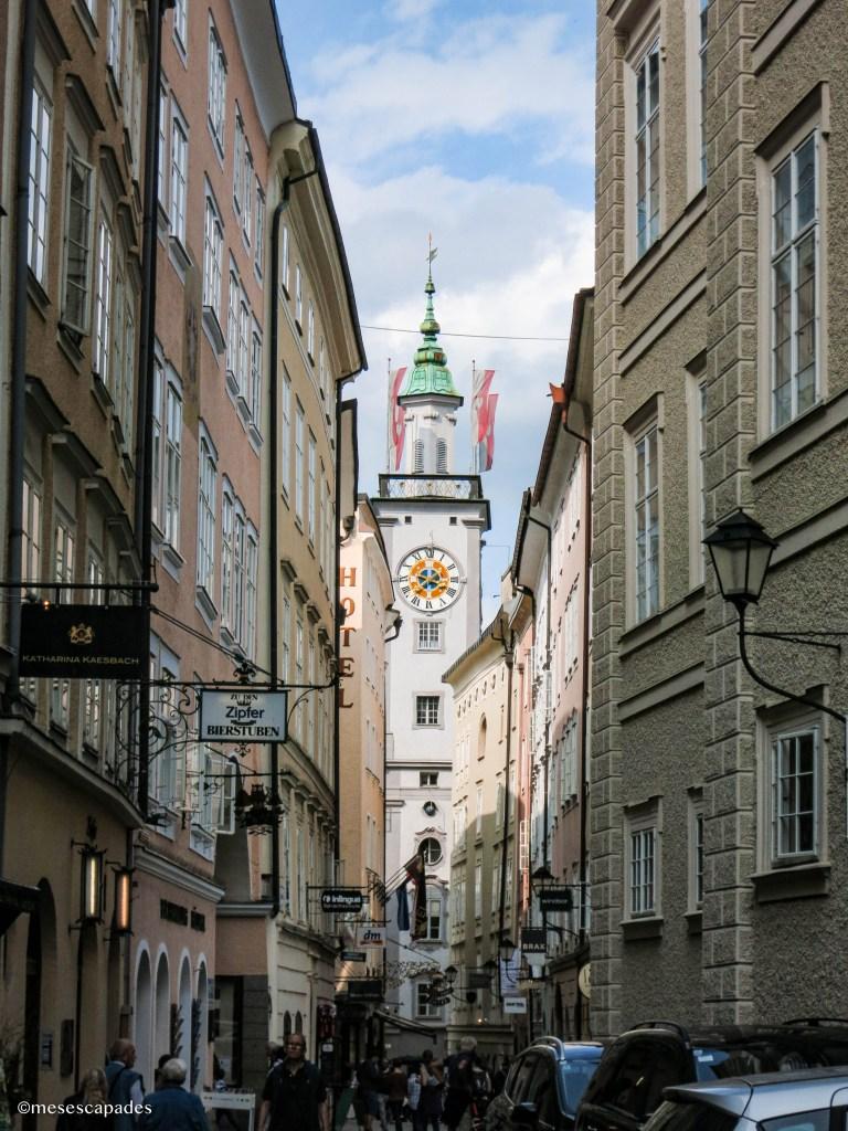 Balade dans le centre historique de Salzbourg