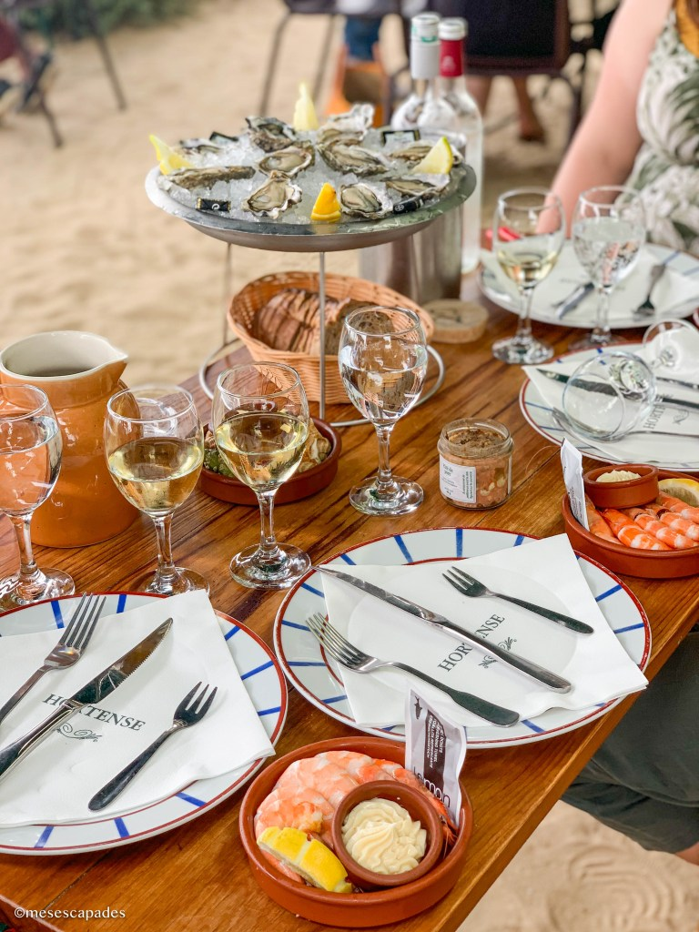 Où manger des fruits de mer au Cap Ferret