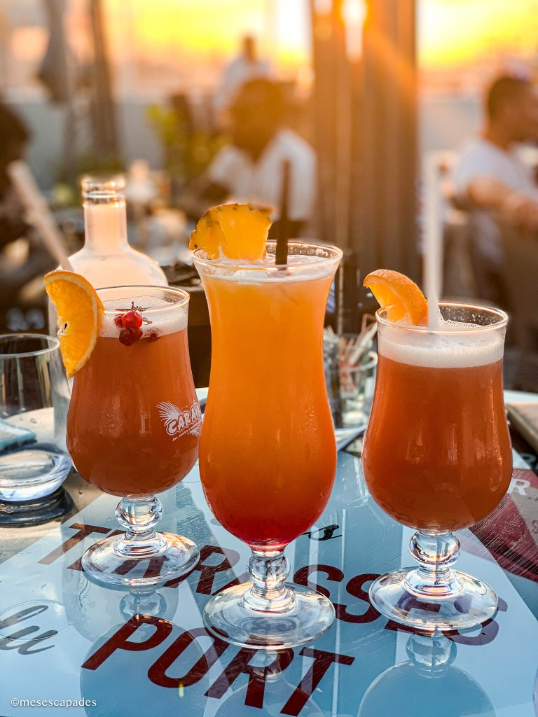 Les cocktails aux Terrasses du Port d'Arcachon
