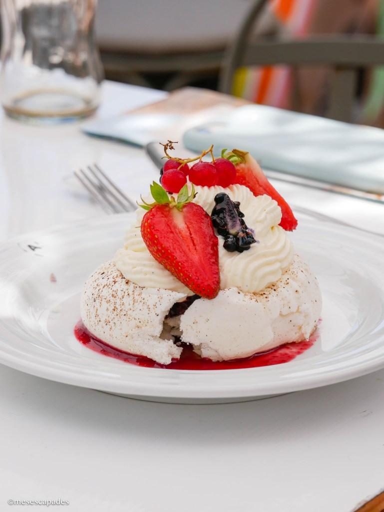 Les desserts du café Haïatza