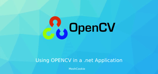 Using openCV in c#