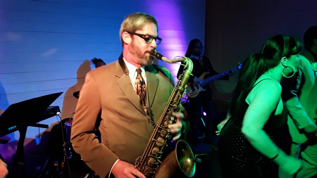 The Royal Dukes Band Saxophone