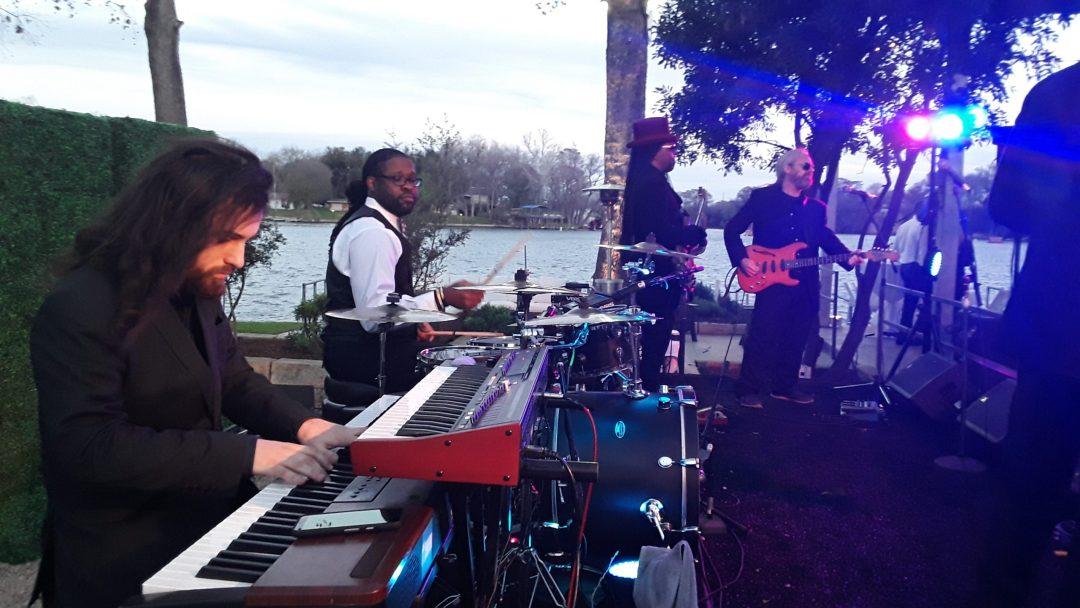 The Royal Dukes Band Lakeside Resort Wedding Party