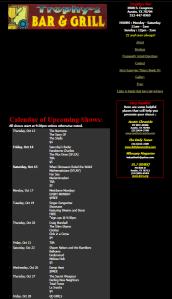 Trophys Austin Archived Website
