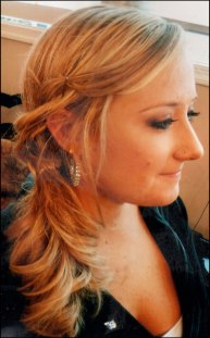 Special do for prom