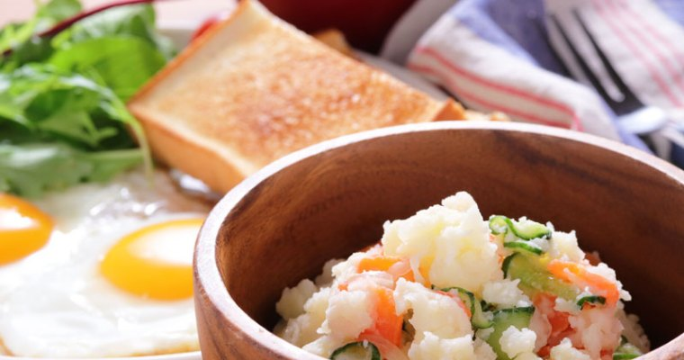 Japanese style potato salad