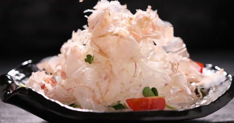 Julienne daikon salad