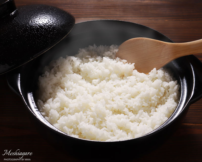 How to cook Japanese rice with your pot