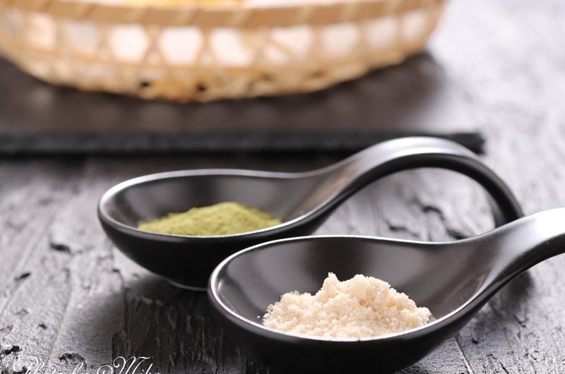 Umami salt (kombu and matcha)